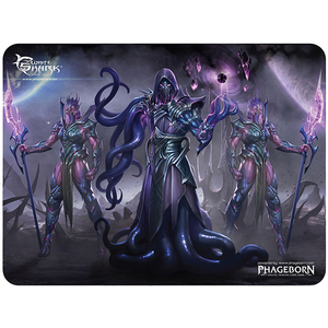 Mouse Pad Gaming WHITE SHARK Oblivion MP-1895, marime L, negru-mov