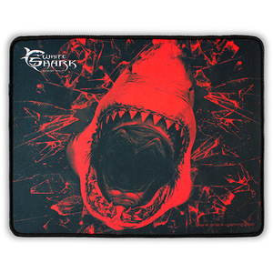 Mouse Pad Gaming WHITE SHARK Skywalker MP-1699, marime M, negru-rosu