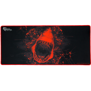 Mouse Pad Gaming WHITE SHARK Skywalker GMP-1899, marime XL, negru-rosu