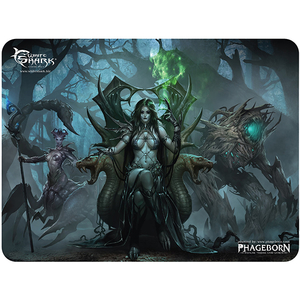 Mouse Pad Gaming WHITE SHARK Vestige MP-1896, marime L, negru-verde