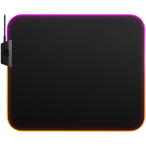 Mouse pad gaming STEELSERIES QcK Prism Cloth M, iluminare RGB, PC/MAC