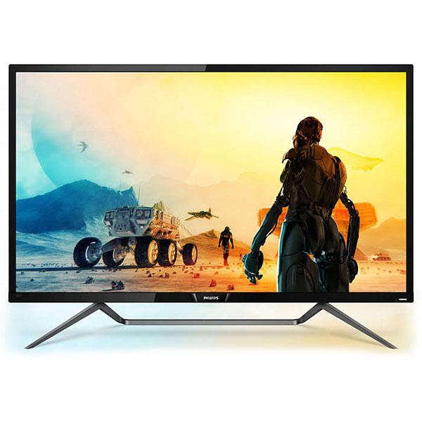 Monitor Gaming LED PHILIPS 436M6VBPAB, 42.51'', 4K, 60Hz, Ambiglow, negru