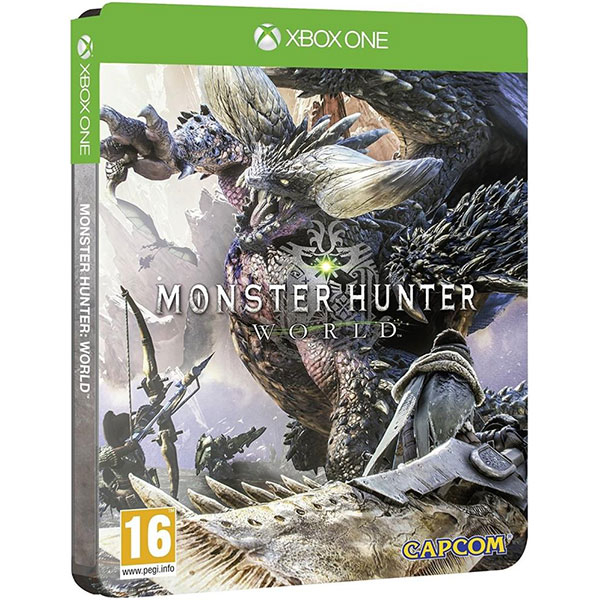 Monster Hunter: World Steelbook Edition Xbox One