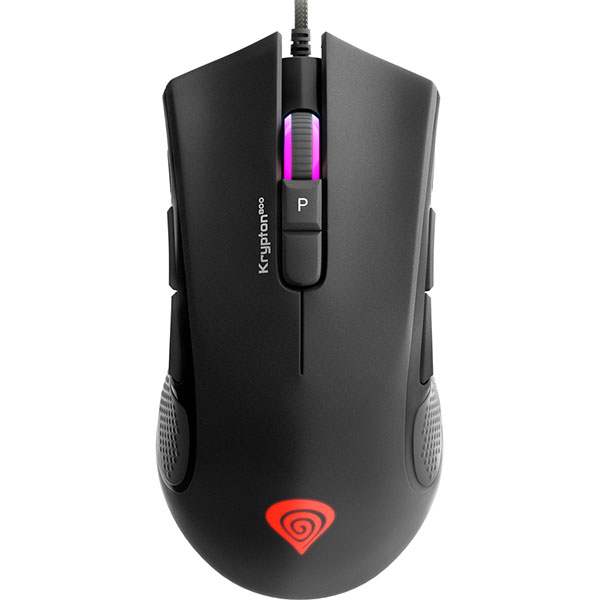 Mouse Gaming NATEC Genesis Krypton 800, 10200 dpi, negru