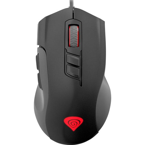 Mouse Gaming NATEC Genesis Xenon 400, 5200 dpi, negru