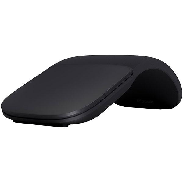 Mouse MICROSOFT Arc Bluetooth, 1000 dpi, negru