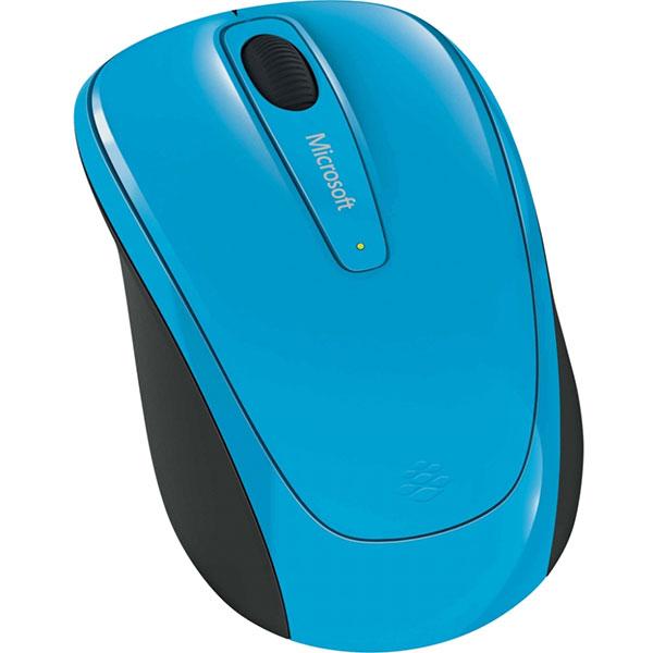 Mouse Wireless MICROSOFT Mobile 3500, 1000 dpi, albastru