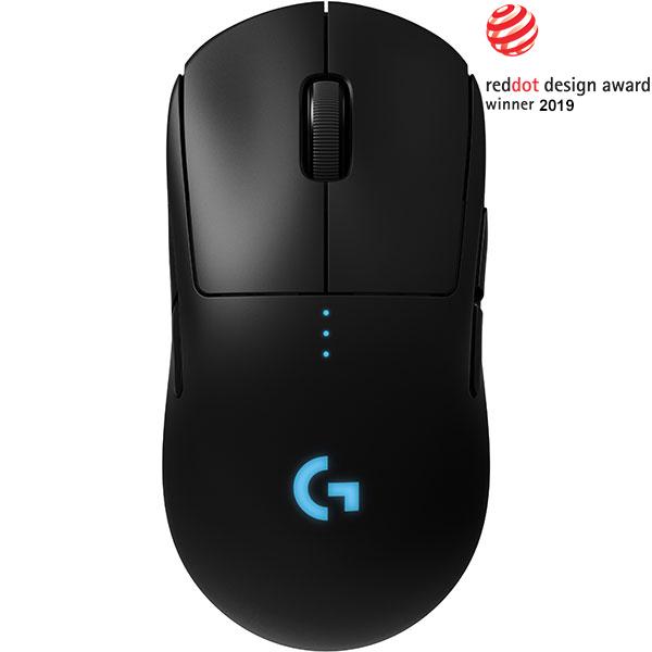 Mouse Gaming Wireless LOGITECH G Pro Lightspeed, 16000 dpi, negru