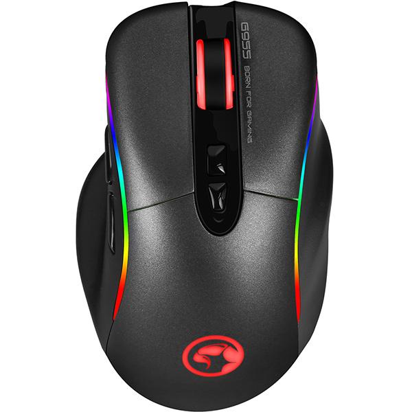Mouse gaming MARVO G955, iluminare RGB, negru