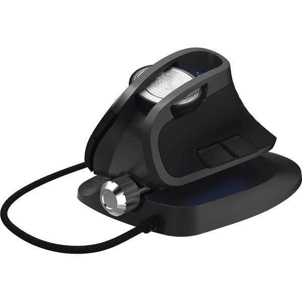 Mouse Gaming vertical HAMA uRage Vertikill, 4000 dpi, negru