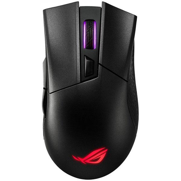 Mouse Gaming Wireless ASUS ROG Gladius II, 16000 dpi, negru