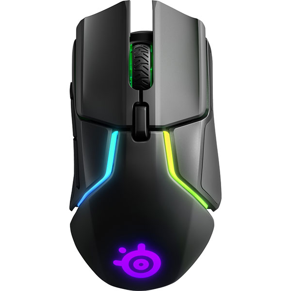 Mouse Gaming Wireless STEELSERIES Rival 650, 12000 dpi, negru