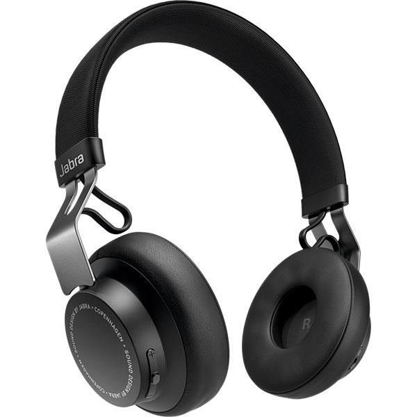 Casti JABRA Move Style, Bluetooth, On-Ear, Microfon, Noise Cancelling, negru