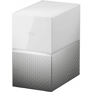 Network Attached Storage WD My Cloud Home Dual Drive WDBVXC0060HWT, 6TB, alb