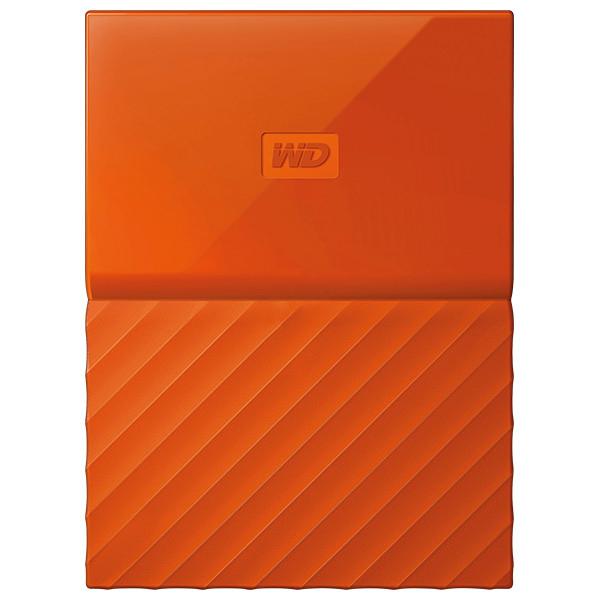 Hard Disk Drive WD My Passport WDBS4B0020BOR, 2TB, USB 3.0, portocaliu