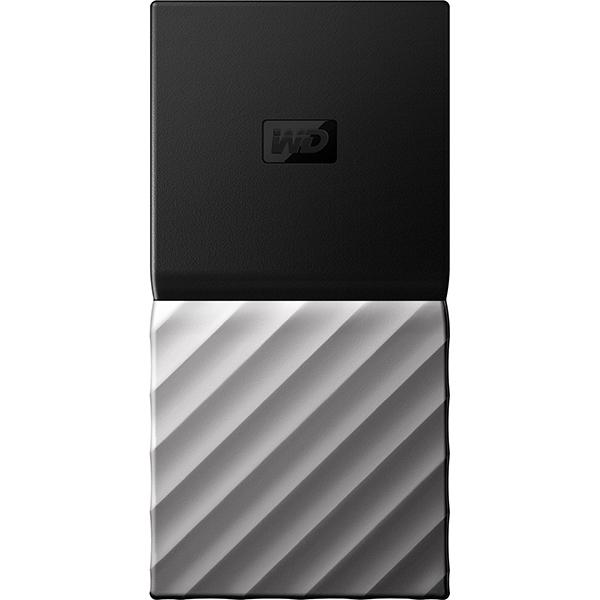 SSD portabil WD My Passport WDBKVX2560PSL-WESN, 256GB, USB 3.1 Type C Gen 2, negru-gri