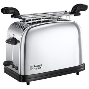 Prajitor de paine cu accesoriu pentru sandwich-uri RUSSELL HOBBS Chester 23310-57, 1200W, inox