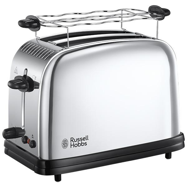 Prajitor de paine RUSSELL HOBBS Chester 23310-56, 1670W, inox