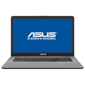 "Laptop ASUS VivoBook Pro N705FD-GC020, 17.3"" Full HD, Intel Core i7-8565U pana la 4.6GHz, 8GB, HDD 1TB + SSD 128GB, NVIDIA GeForce GTX 1050 4GB, Endless, gri metalic"