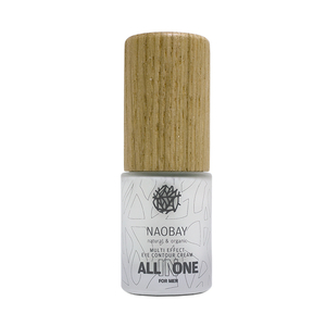 Crema contur de ochi cu acid hialuronic pentru barbati NAOBAY All In One Multi Effect, 20ml