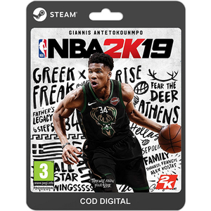 NBA 2K19 PC (licenta electronica Steam)