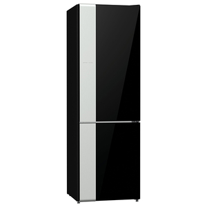 Combina frigorifica No Frost Plus GORENJE NRK612ORAB, 307 l, 185 cm, A++, negru