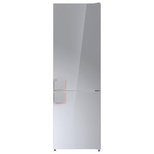 Combina frigorifica GORENJE NRK612ST, 307 l, 185 cm, A++, argintiu