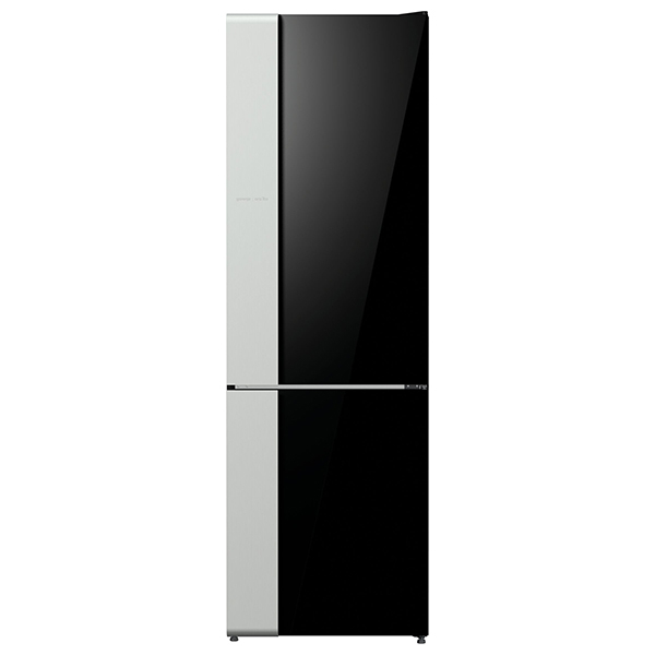 Combina frigorifica GORENJE NRK612ORAB, No Frost Plus, 307 l, H 185 cm, Clasa A++, negru