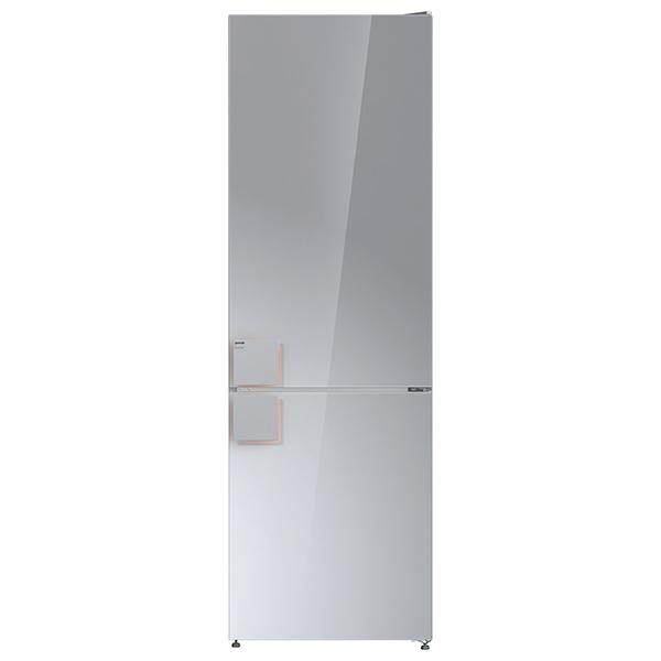Combina frigorifica GORENJE NRK612ST, No Frost Plus, 307 l, H 185 cm, Clasa A++, argintiu