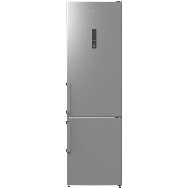 Combina frigorifica GORENJE NRK6202MX, No Frost Plus, 339 l , H 200 cm, Clasa A++, inox