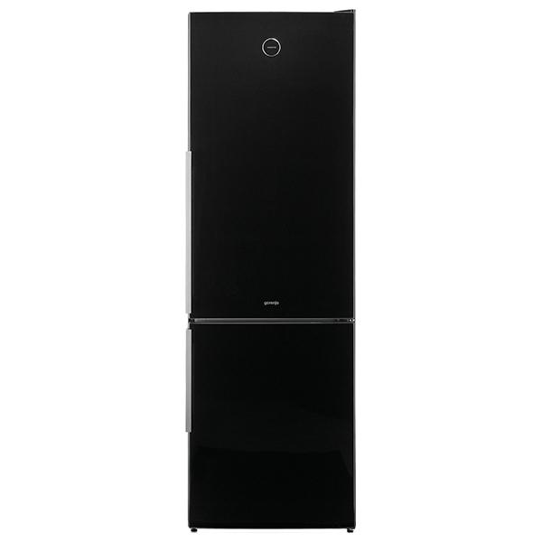 Combina frigorifica GORENJE NRK62JSY2B, No Frost Plus, 306 l, H 185 cm, Clasa A++, negru