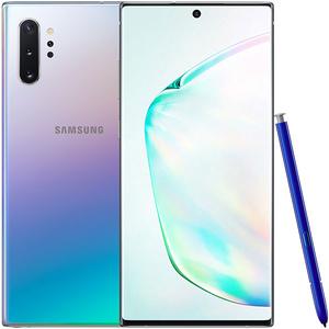 Telefon SAMSUNG Galaxy Note 10+, 512GB, 12GB RAM, Dual SIM, Aura Glow