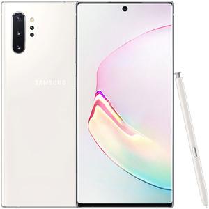 Telefon SAMSUNG Galaxy Note 10+, 512GB, 12GB RAM, Dual SIM, Aura White