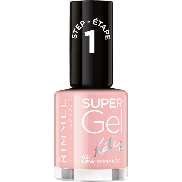 Lac De Unghii Rimmel London Super Gel 021 New Romantic 12ml