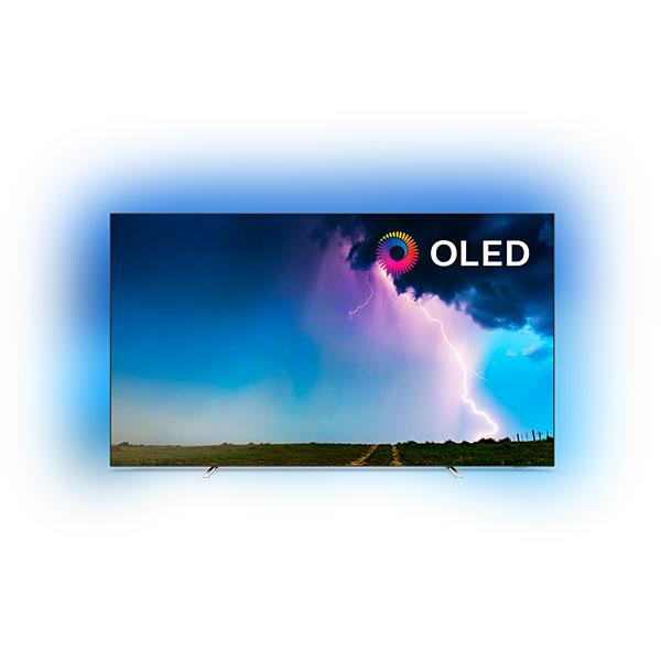 Televizor OLED Smart Ultra HD 4K, HDR, Ambilight, 139 cm, PHILIPS 55OLED754/12