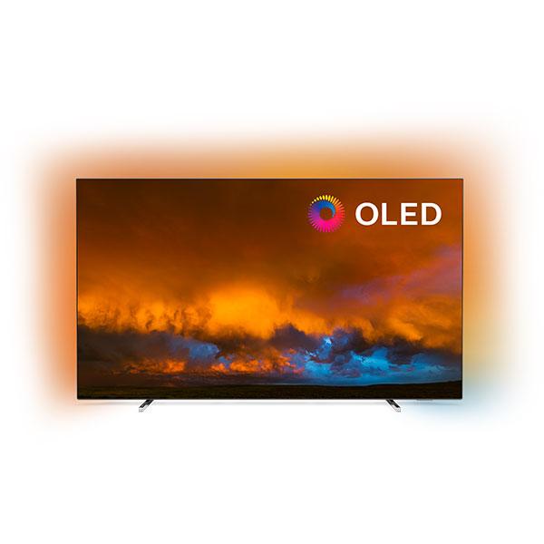 Televizor OLED Smart Ultra HD 4K, HDR, Ambilight, 139 cm, PHILIPS 55OLED804/12