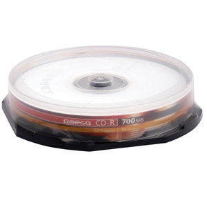 CD-R OMEGA OM010100, 52x,  0.7GB, 10 buc