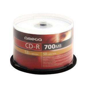 CD-R OMEGA OM010104, 52x,  0.7GB, 50 buc
