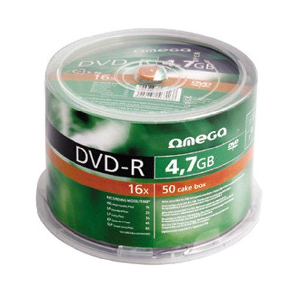 DVD-R OMEGA OM020103, 16x,  4.7GB, 50 buc