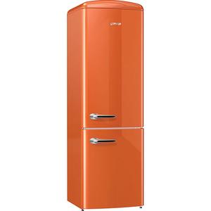Combina frigorifica GORENJE ORK192O, 322l, A++, portocaliu
