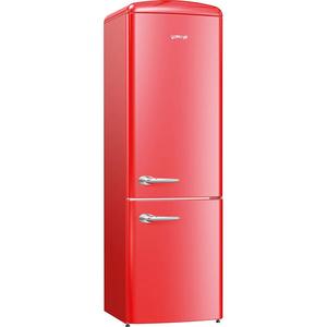 Combina frigorifica GORENJE ORK192RD, 322l, A++, rosu
