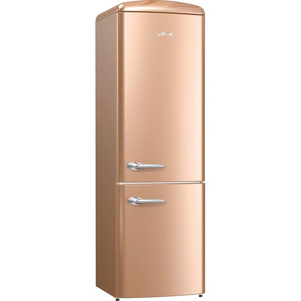 Combina frigorifica GORENJE ORK192CO, FrostLess, 322 l, H 194 cm, Clasa A++, cappuccino