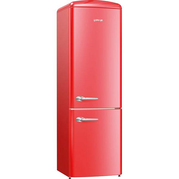 Combina frigorifica GORENJE ORK192RD, 322 l, H 194 cm, Clasa A++, rosu