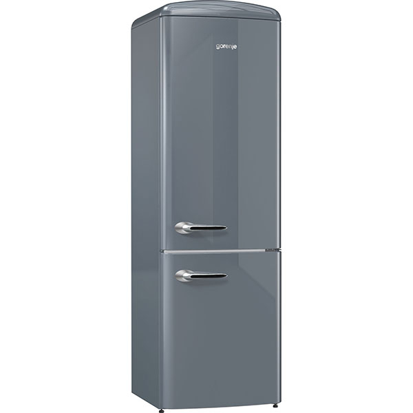 Combina frigorifica GORENJE ORK192X, 322l, H 194 cm, Clasa A++, argintiu