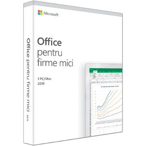 Microsoft Office Home and Business 2019, 1 PC/Mac, Romana