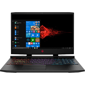 "Laptop Gaming Omen by HP 15-dc1012nq, Intel Core i7-8750H pana la 4.1GHz, 15.6"" Full HD, 32GB, HDD 1TB + SSD 512GB, NVIDIA GeForce RTX 2070 8GB, Windows 10 Home, negru"