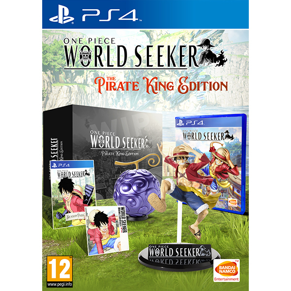 One Piece World Seeker Playstation 4: One Piece: World Seeker The Pirate King Edition PS4