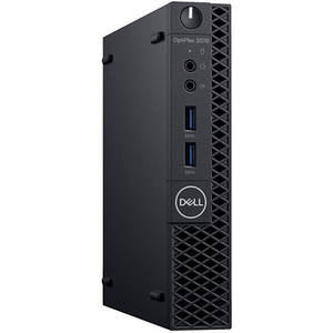 Sistem Desktop PC DELL OptiPlex 3070 MFF, Intel Core i3-9100T pana la 3.7GHz, 8GB, SSD 256GB, Intel UHD Graphics 630, Ubuntu