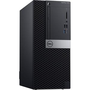 Sistem Desktop PC DELL OptiPlex 7070 MT, Intel® Core™ i9-9900 pana la 4.9GHz, 32GB, SSD 512GB, Intel® UHD Graphics 630, Linux