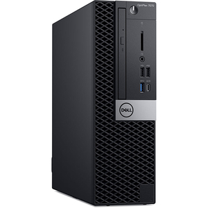 Sistem Desktop PC DELL OptiPlex 7070 SFF, Intel® Core™ i9-9900 pana la 4.9GHz, 32GB, SSD 512GB, Intel® UHD Graphics 630, Windows 10 Pro